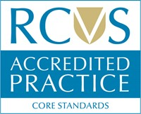 RCVS Accredited Practice Core Standards Logo